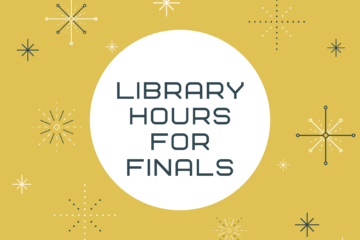 Library hours for finals