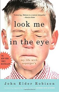 Book cover: Look me in the eye